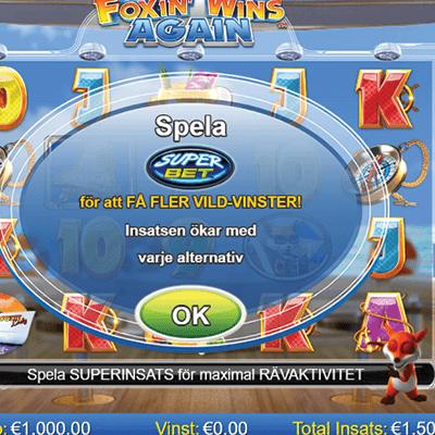 Foxin' Wins Again slots
