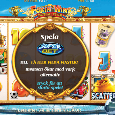 Foxin' Wins: Football Fever slots