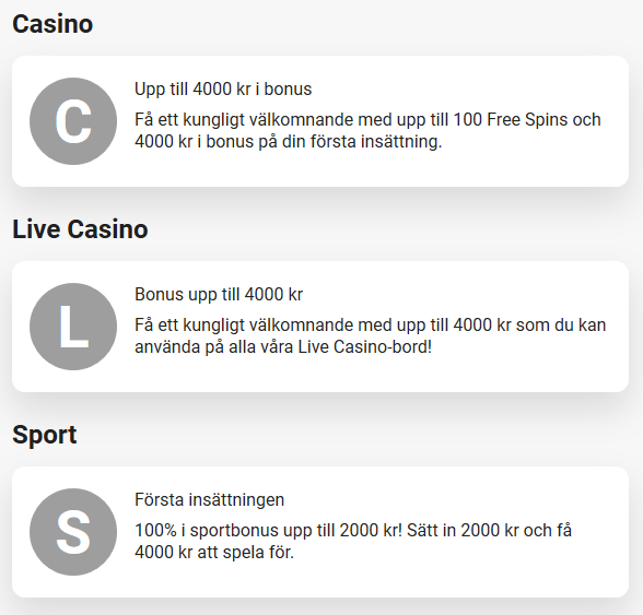 Registrera dig här på LeoVegas och tävla sedan om hela 400 000 kr i prispotten!
