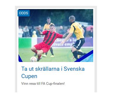 Vinn en resa till FA Cup-finalen via NordicBet!