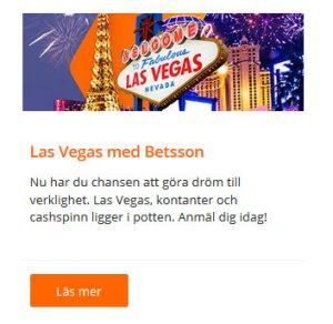 Tävla om Las Vegas-resan nu på Betsson!