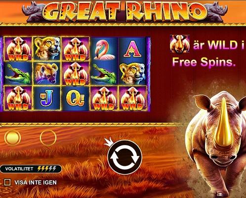 Great Rhino Slots
