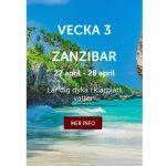 Vinn resa till Zanzibar på Betsafe!