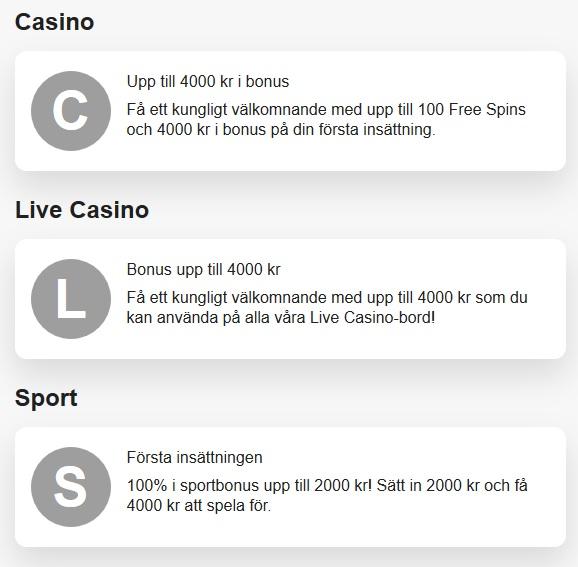 Klicka här och öppna konto på LeoVegas så kan du få ditt 25 kr gratisspel!