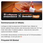 Tävla om resa till Båstad på LeoVegas!