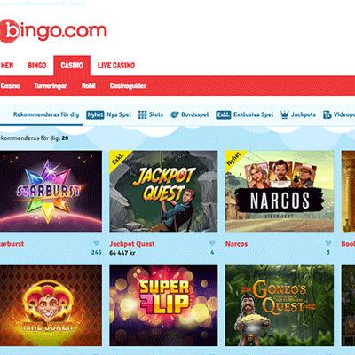 Bingo.com bonus