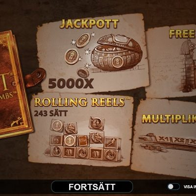Lara Croft Temples and Tombs Slots