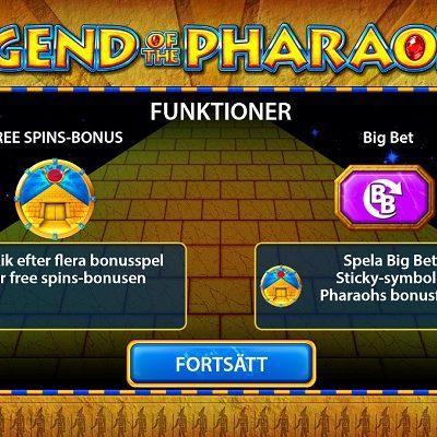 Legend of the Pharaohs Slots