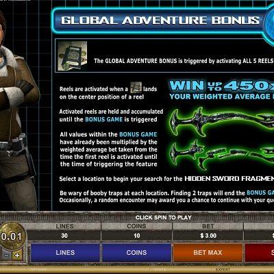 Tomb Raider II Slots
