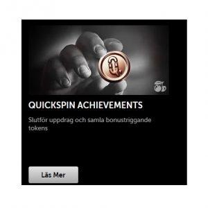 Vinn mer i Quickspin Achievements hos Betsafe!