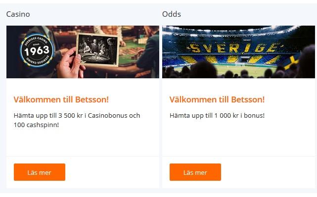 Skapa konto på Betsson för att spela deras nya spel!