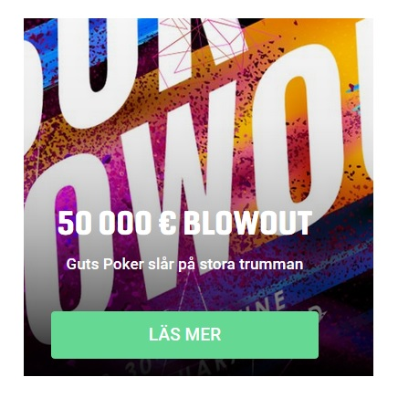 Delta i 50 000 € Blowout poker hos Guts!