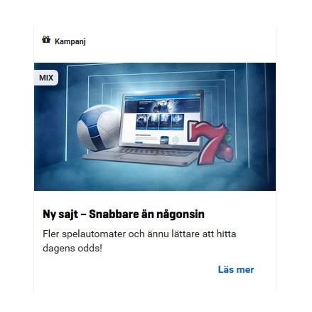 Nytt fräscht utseende på NordicBet!