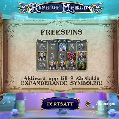 Rise of Merlin Slots