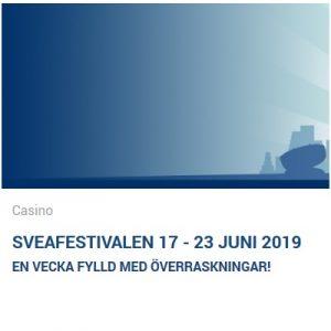 Vinn freespins och annat i Sveafestivalen hos Svea Casino!