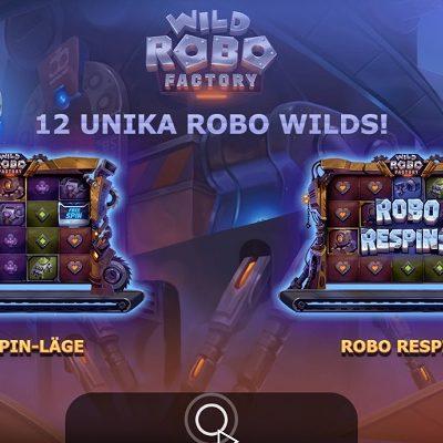Wild Robo Factory Slots