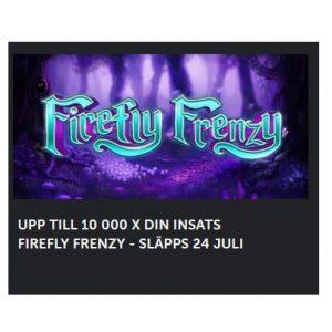 Spela nya Firefly Frenzy på Betsafe!