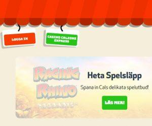 Vinn massor i Raging Rhino Megaways hos Casino Calzone!