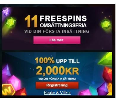 Börja spela 2 casinospel parallellt hos Videoslots nu!