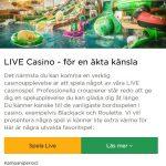 Förbättrat Live Casino hos Mr Green!