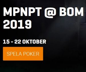 Vinn plats till 1 € miljon MPNPT Poker på Malta via NordicBet!