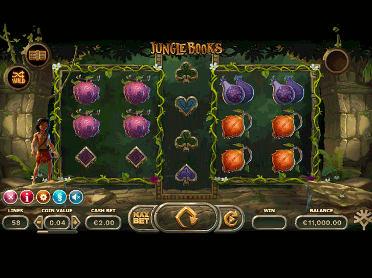 jungle books iframe