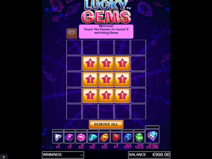 Lucky Gems iframe