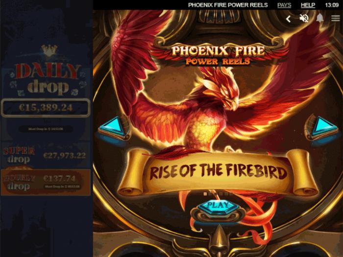 Phoenix Fire Power Reels iframe
