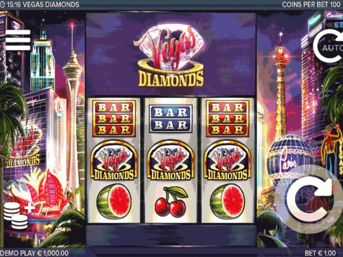 Vegas Diamonds iframe