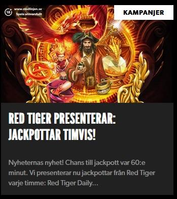 Timvisa jackpottar på Rizk Casino!
