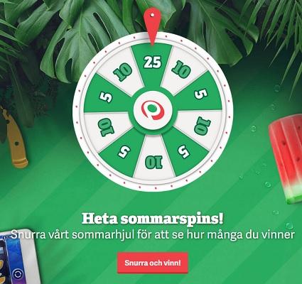 Delta i Julkalendern som Paf casino kör!