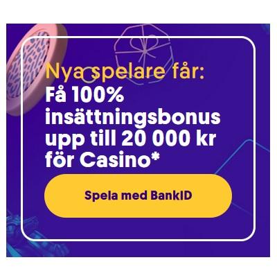 Svenska casinon tipsar dig om Casumos 20 000 kr bonus!